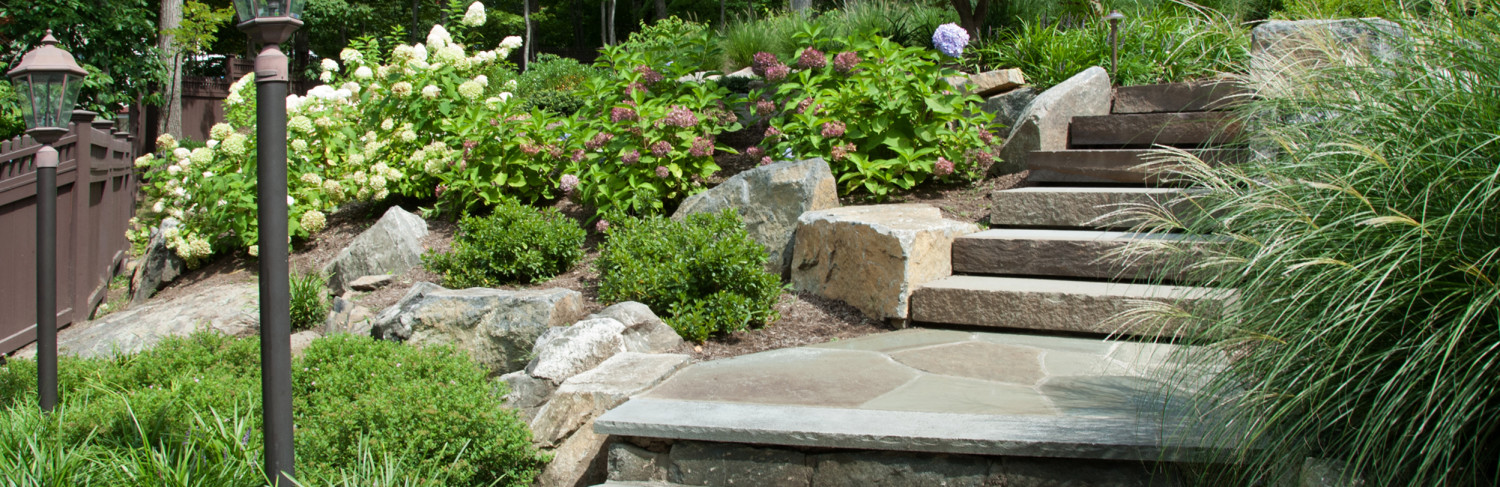 Masonry and Steps Built by Pools of Perfection, Armonk, NY
