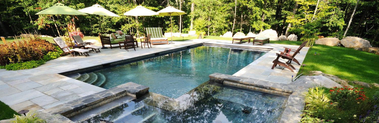 Swimming Pool Built by Pools of Perfection, Serving Purchase, NY