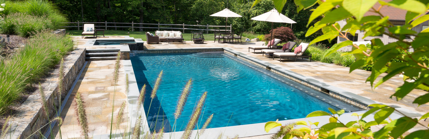 Swimming Pool Built by Pools of Perfection, Serving Harrison, NY