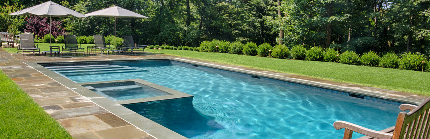 Swimming Pool Built by Pools of Perfection, Serving West Harrison, NY