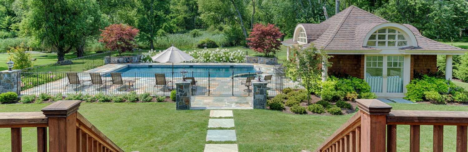 Swimming Pool Built by Pools of Perfection, Serving Scarsdale, NY