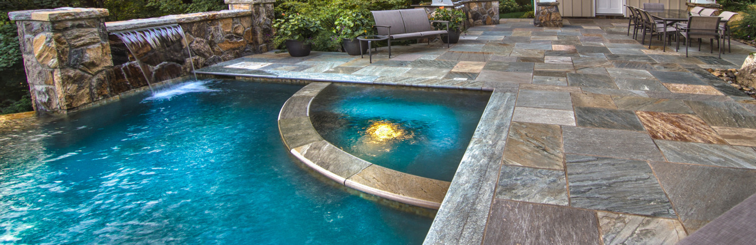 Swimming Pool Built by Pools of Perfection, Serving Pleasantville, NY